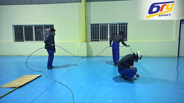 Giải pháp thi công sơn sàn epoxy vào mùa đông?