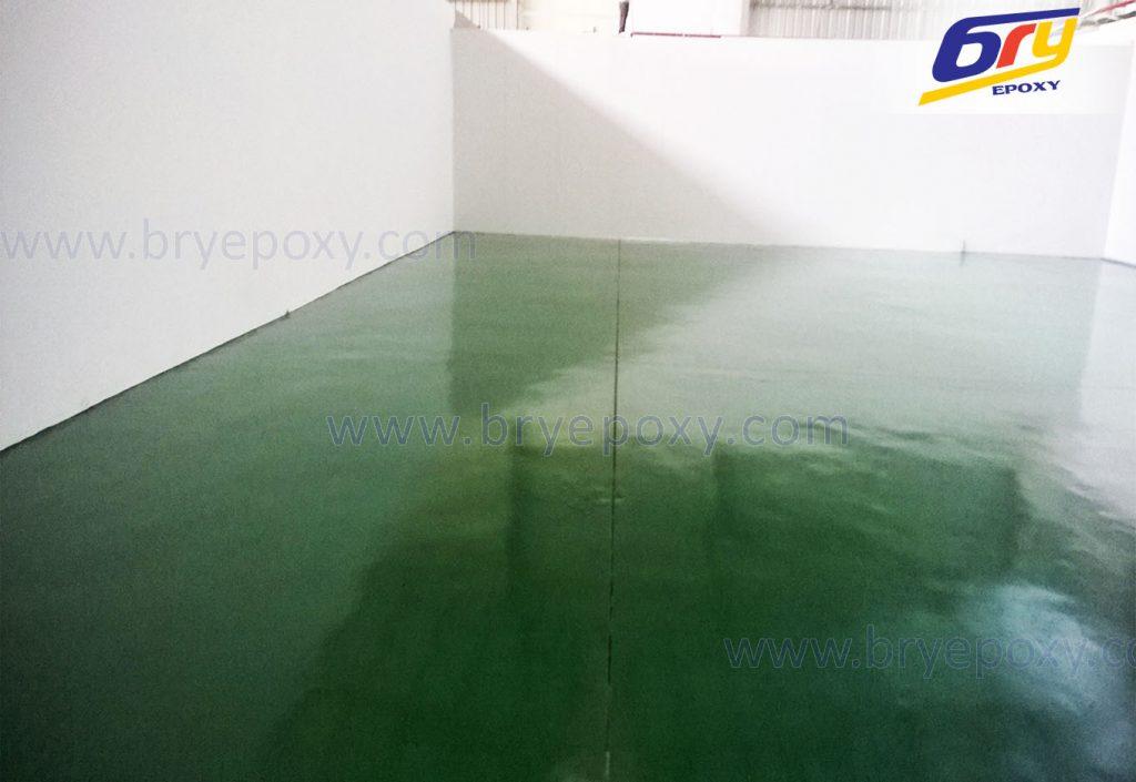 Sơn sàn epoxy tại nhà máy sản xuất và gia công cơ khí – Bắc Ninh