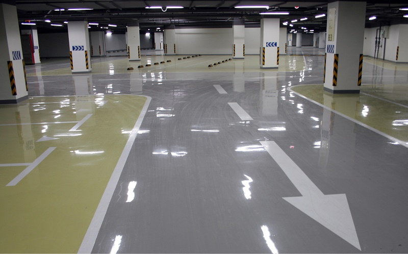 Sơn sàn epoxy – tiết kiệm chi phí sản xuất