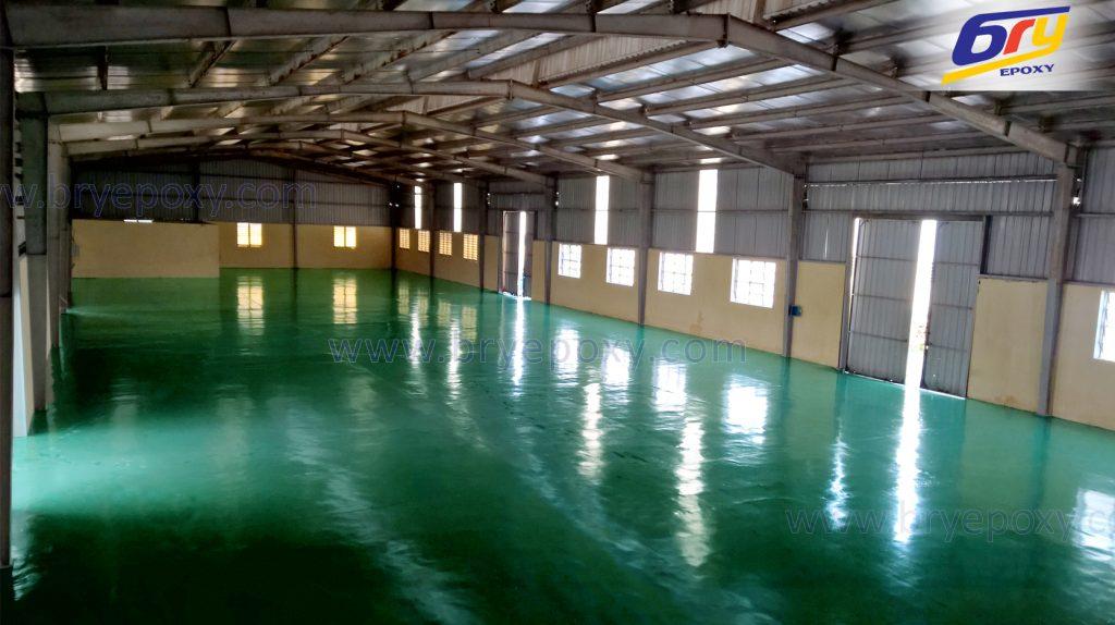 Sơn epoxy nền nhà xưởng – nhà máy PICENZA