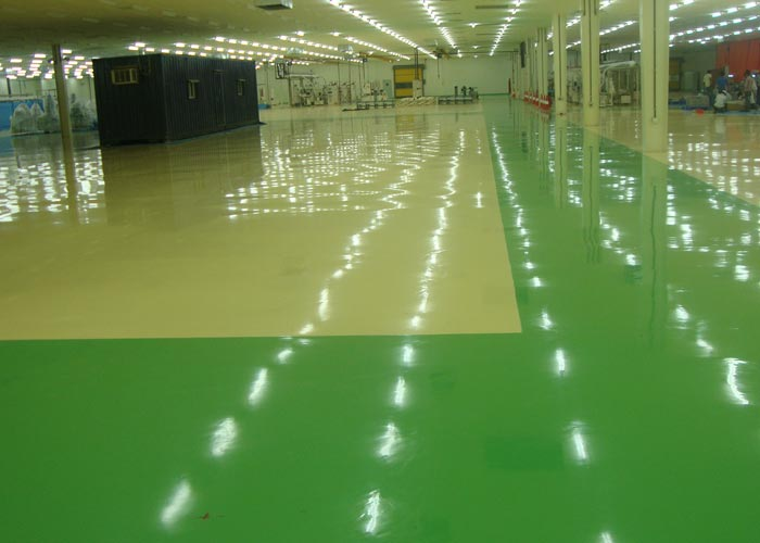 Self-leveling epoxy paint (1-10mm)
