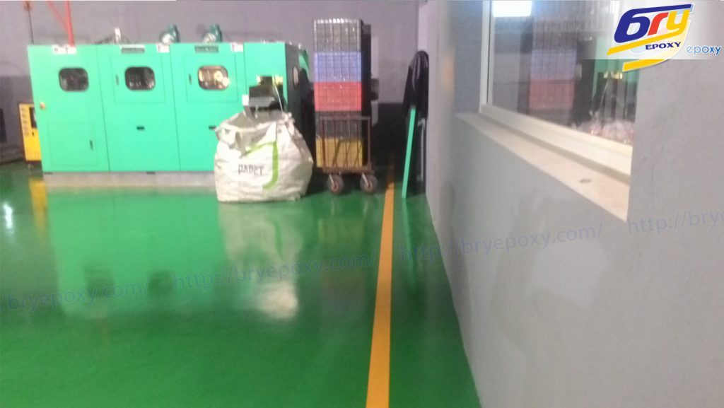 Thi công sơn epoxy tại nhà máy sản xuất nhựa hà nội