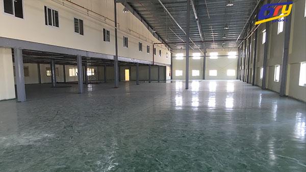 Thi công sơn phủ sàn epoxy tại xưởng may mặc ở Phú Thọ