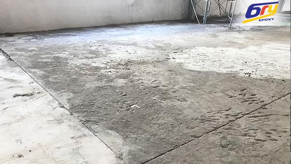 Thi công sơn epoxy tại nhà máy linh kiện điện tử KCN Khắc Niệm-Bắc Ninh
