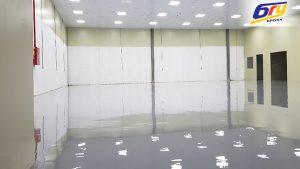 thi công son epoxy cho phòng sạch bệnh viện là yêu cầu bắt buộc