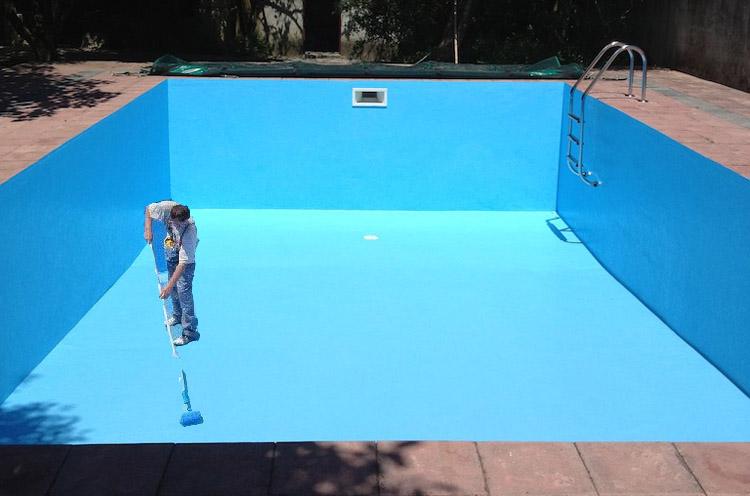 Thi công chống thấm bằng sơn epoxy cho bể nước ngầm