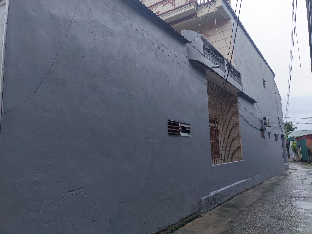 tường ngoài đã được chống thấm